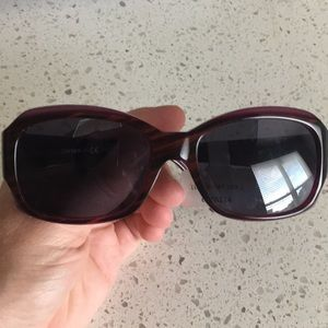 NWT DKNY purple tortoise sunglasses